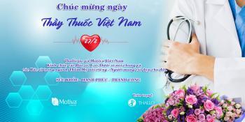 Chúc mừng ngày Thầy thuốc Việt Nam 27/2